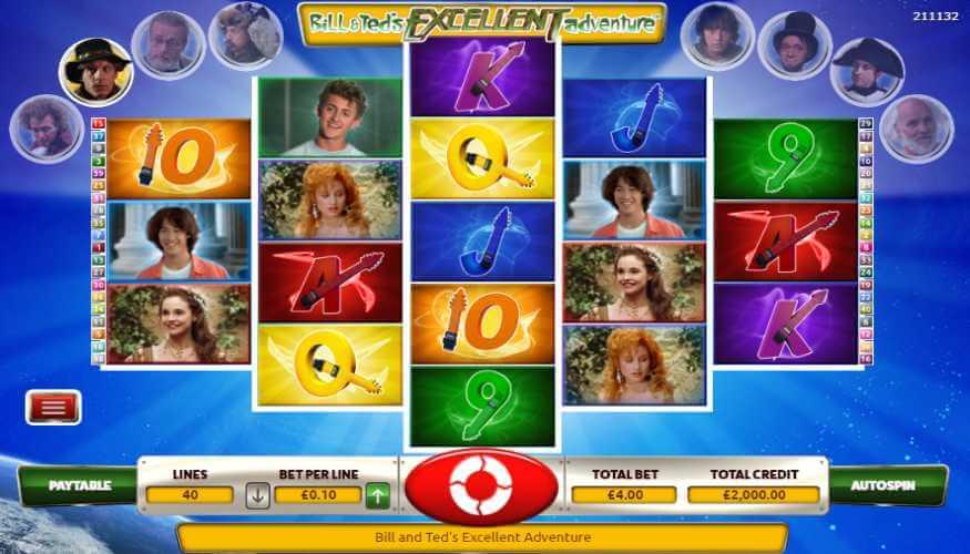 Bill and Ted's Excellent Adventure Casino Peli